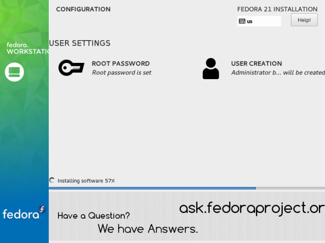 Installing Fedora